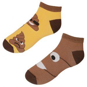Vtipné kotníkové ponožky