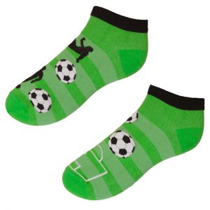 Veselé kotníkové ponožky - Fotbal