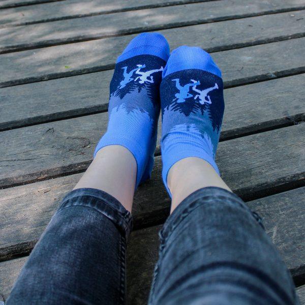 Veselé kotníkové ponožky – Běžec