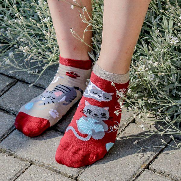 Veselé kotníkové ponožky – Koťátka