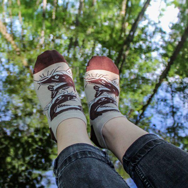 Veselé kotníkové ponožky – Ryba