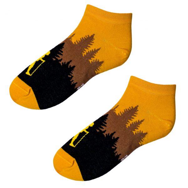 Veselé kotníkové ponožky – Turista