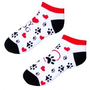 vtipné ponožky –I love my dog