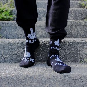 Veselé ponožky – Fuck
