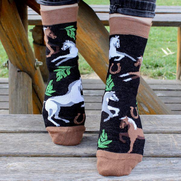 Veselé ponožky – Koně