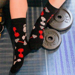 Veselé ponožky – Never give up ( Veselé ponožky – Never give up )