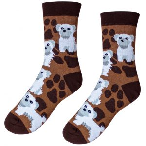 Veselé ponožky – Pejsek