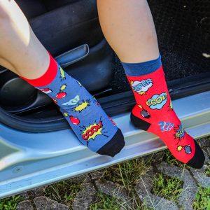 Veselé ponožky - Super