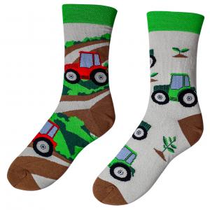 Veselé ponožky – Traktor ( Veselé ponožky – Traktor