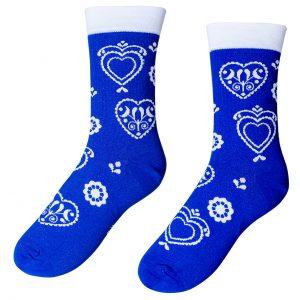 Designové ponožky –Folklór