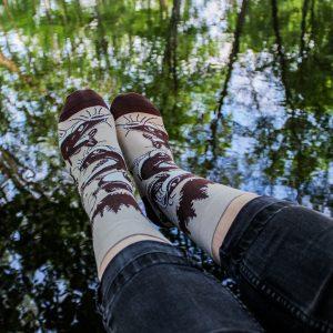 Veselé ponožky –Ryba