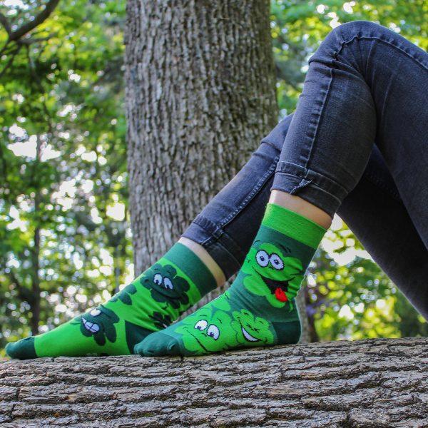 Veselé ponožky – Čtyřlístek