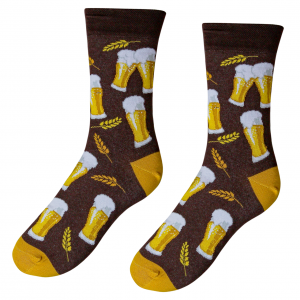Designové ponožky - S pivem