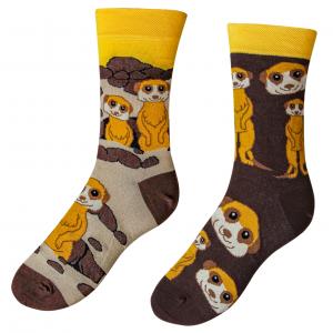 Veselé ponožky Surikaty