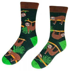 Veselé ponožky – Lenochod