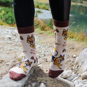 Veselé ponožky –Pes Německý ovčák